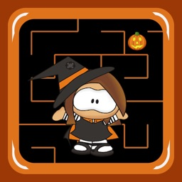 Halloween Witch Maze Race