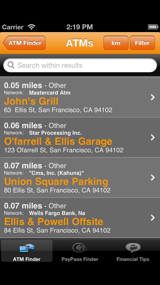 ATM Hunter screenshot two