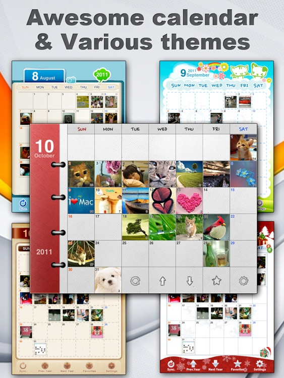 Awesome Photo Calendar HD Lite