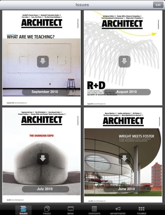 Architect Magazine Reader