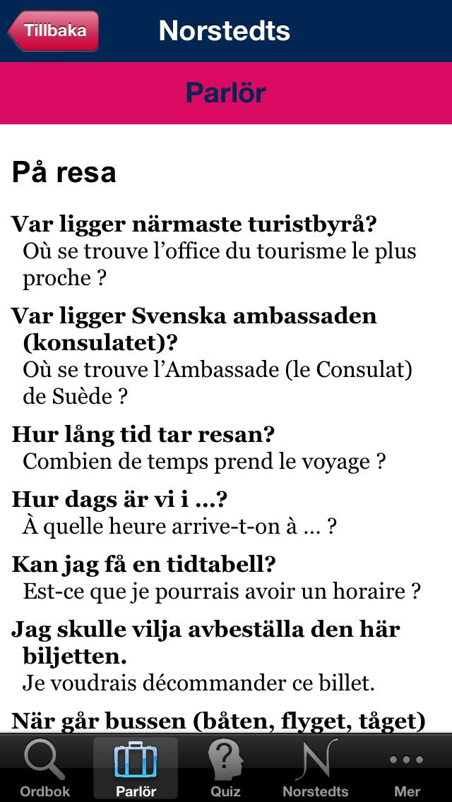 Norstedts stora franska ordbokのおすすめ画像3