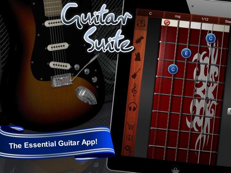 Guitar Suite Hd Metronome Tuner And Chords Library For Guitar