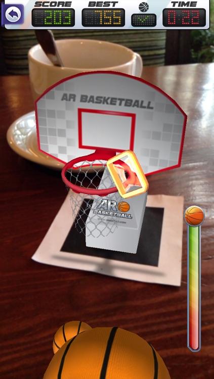 ARBasketball - Augmented Reality Basketball Game screenshot-3