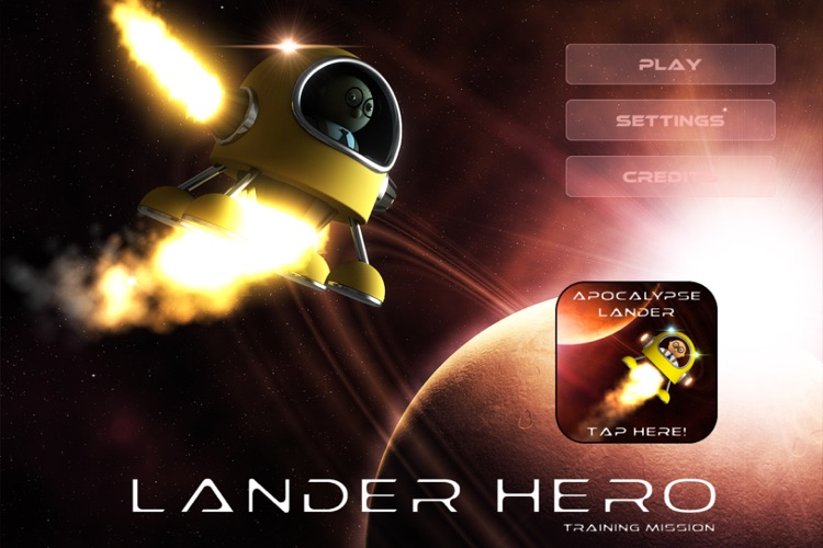 Lander Hero: Training Mission screenshot-4