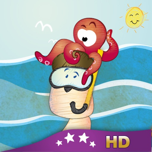 A Day at the Beach HD - Children's Story Book icon
