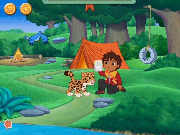 Dora & Diego s Vacation Adventure HD screenshot-4