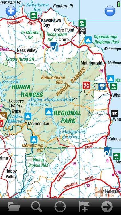 NZ RoadAtlas | New Zealand Road Atlas with Offline GPS Navigation