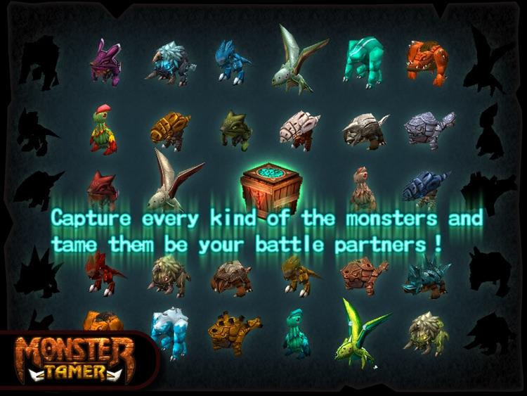Monster Tamer HD screenshot-4