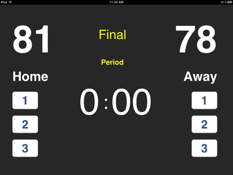 Live Basketball Scoreboard HD screenshot-3