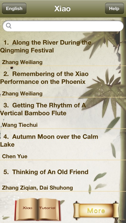 Xiao Appreciation and Learning-100 Songs