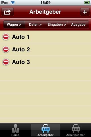 Rechner DienstwagenScreenshot von 2