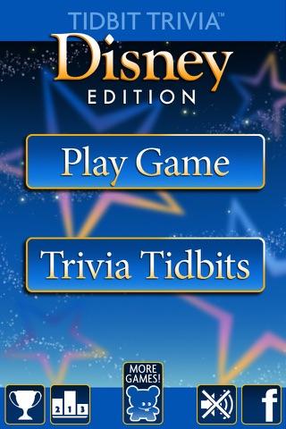 Tidbit Trivia - Disney Edition Screenshot