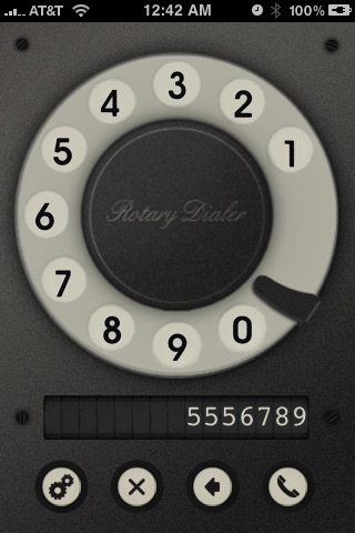 Rotary Dialer screenshot-2