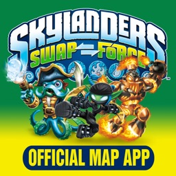 Skylanders SWAP Force Official Map App