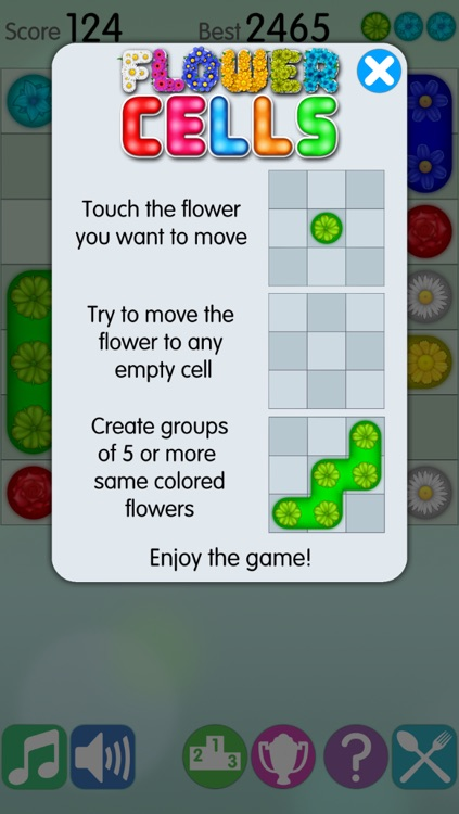 Flower Cells Free screenshot-2