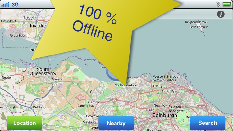 Edinburgh No.1 Offline Map screenshot-1