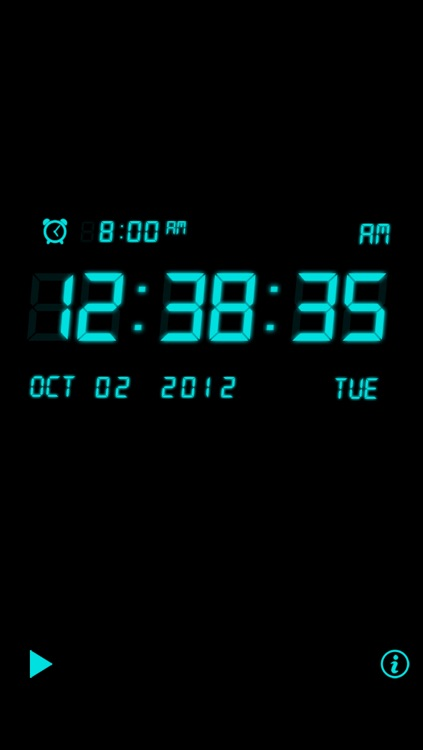 Alarm Night Clock Lite screenshot-0