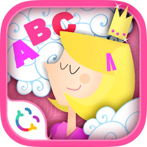 Princess ABC: Learn to Write - Free Kids Alphabet App for Preschool Girls - Letter Tracing Interactive Educational Game based on Montessori Logical Match Quiz for Kindergarten Children