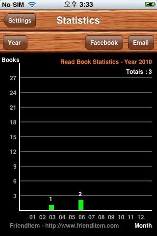 FriendItem - Social Book Service screenshot-3
