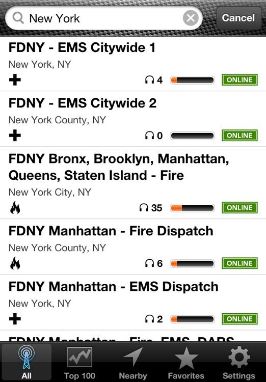 Emergency Radio (Police Scanner) screenshot-4