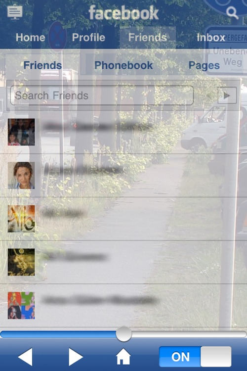 Browser 2Go for Facebook screenshot-4