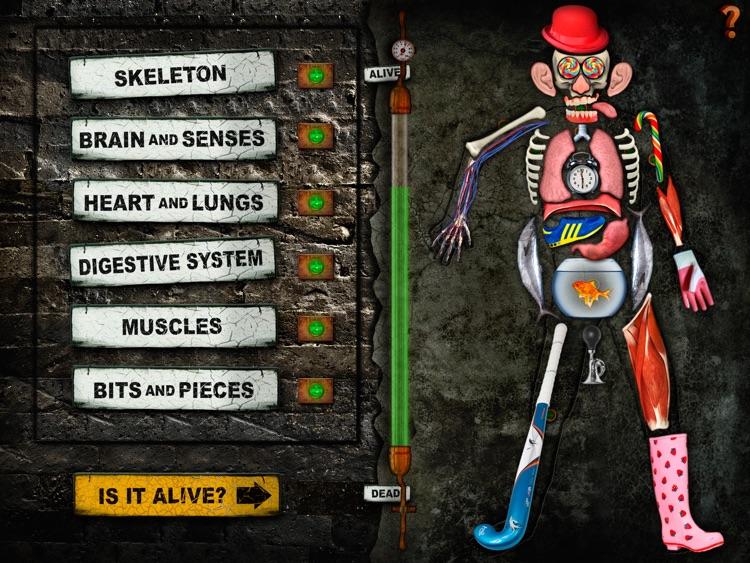 Dr. Frankenstein's Body Lab screenshot-4