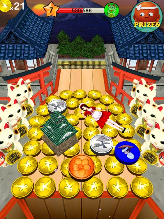 Coin Dozer - World Tour HD screenshot-4