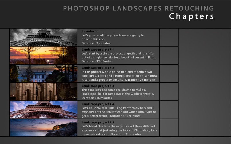 Learn Landscapes Retouching Photoshop CS 5 Free Edition | App Price