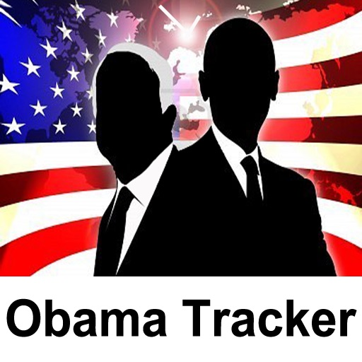 Obama Tracker free for iPad icon
