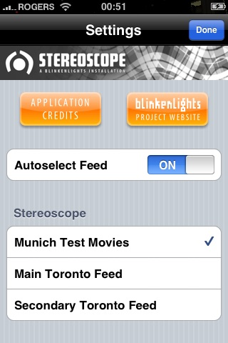Blinkenlights Stereoscope screenshot three