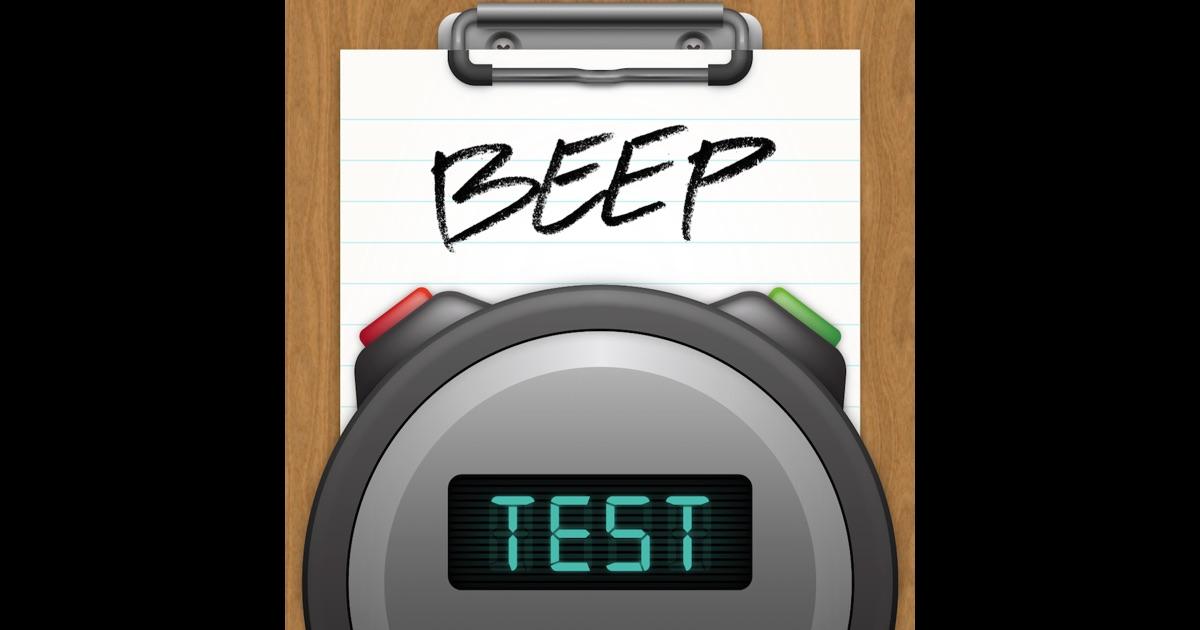 beep test on the app store. Black Bedroom Furniture Sets. Home Design Ideas