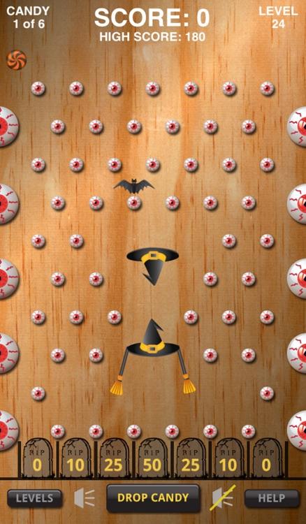 Pachinko Halloween Candy Drop Free screenshot-3