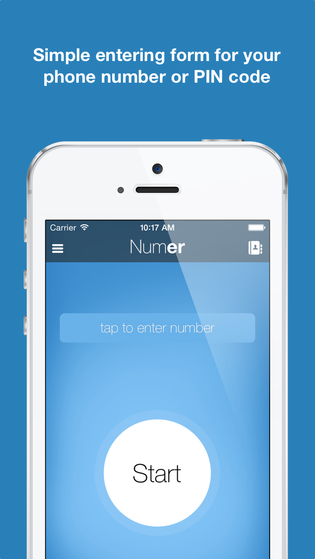 Numer | Mnemonic Phone Numbers screenshot one