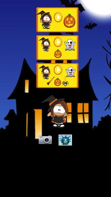 Halloween Witch Maze Race screenshot-4