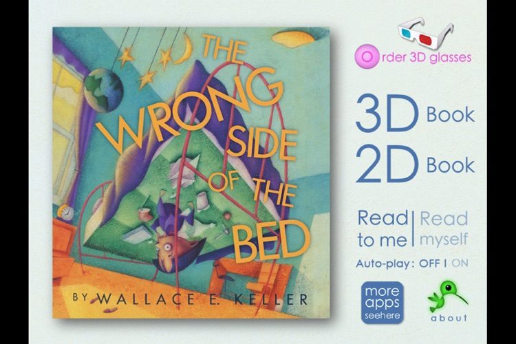 3D Storybook - The Wrong Side of the Bed in 3D!