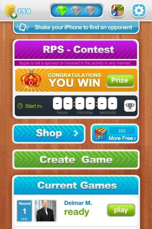 Fight! RPS - Rock Paper Scissors with Friends Free screenshot-3
