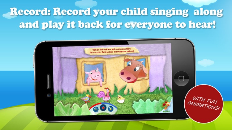 Old MacDonald Song Book – by BabyTV screenshot-2