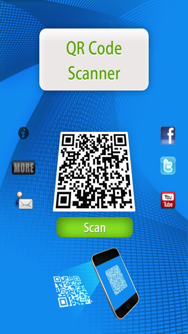 QR Code Scan Reader Best and Fastest for iPhone Screenshot