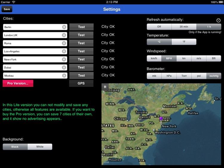 Tile Weather Lite screenshot-3