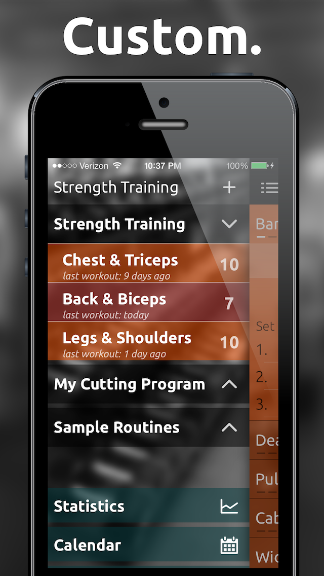 Fitted Lifts - Workout log and exercise tracker for bodybuilding and weight trainingのおすすめ画像4