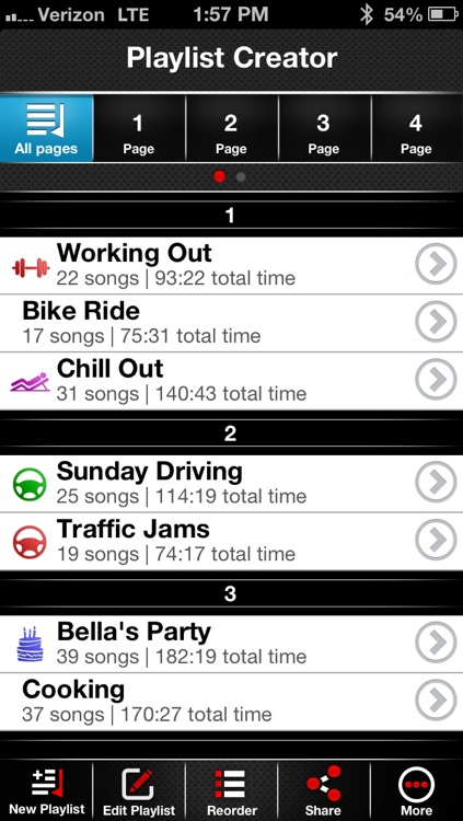 Playlist-Creator PRO: The Ultimate Running, Driving, Workout, Dance, Party, and Relaxing Music Organizer! screenshot-0