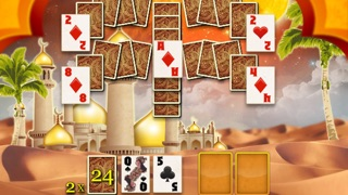 Aladdin Solitaire Light screenshot four