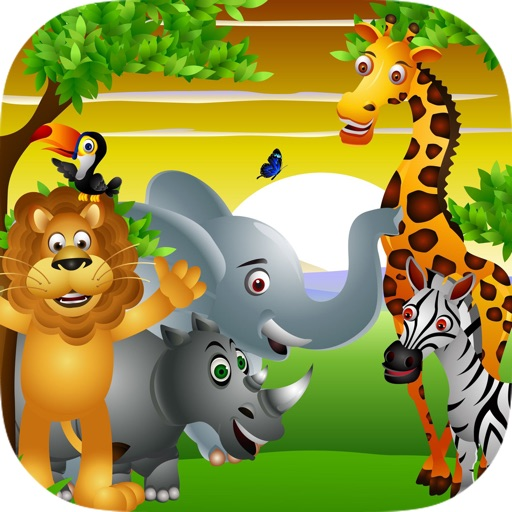 Animals of the Savana - Amazing Hidden Objects for Kids icon