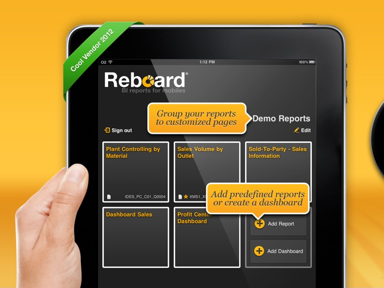Reboard - The Universal Mobile Business Intelligence & Reporting Tool