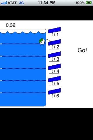 Stickman Swimming Lite-0