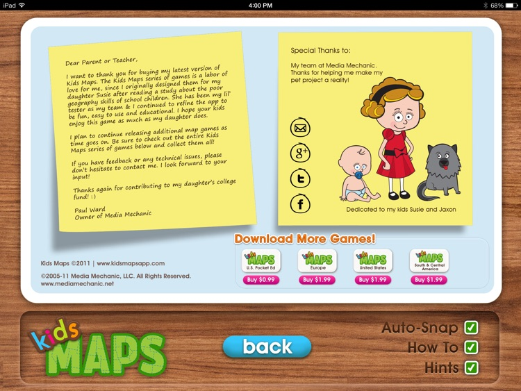 Kids Maps - U.S. Map Puzzle screenshot-4