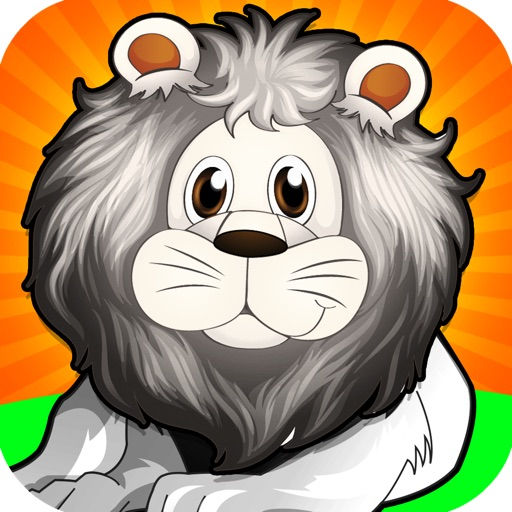 A White Lion Chase Animal Game Free