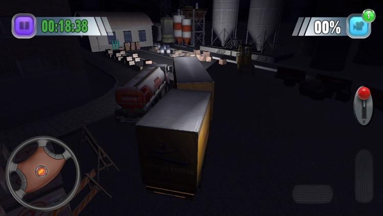 TruckSim: 3D Night Parking Simulator screenshot-4