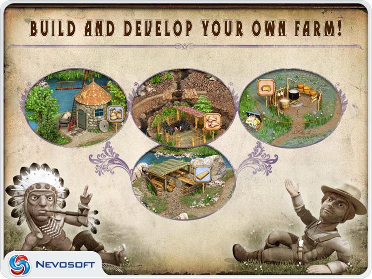 Pioneer Lands HD lite: western settlers strategy screenshot-4