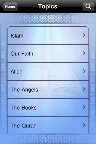 Quran Topics screenshot-1